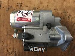 NEW OEM Shibaura starter LS170 New Holland Case skid steer, Denso SBA185086750