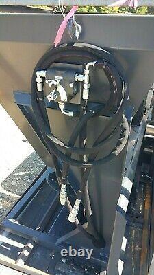 NEW Skid Steer Attachment Material spreader Quick Attach Wolverine