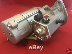NEW Starter for New Holland Skid Steer Loader LX465 LX485 LX565 LX665 L465 L565