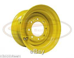 New Holland 9.75x16.5 Skid Steer Wheel Rim Fits Tire Size 12x16.5 loader lug nut
