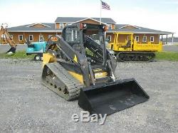 New Holland C238 Skid Steer Canopy Rops 3rd Valve Foot Controls