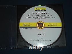 New Holland L230 C238 Tier 4b Skid Steer Loader Service Shop Repair Manual CD