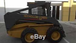 New Holland LS180 Skid-Steer Loader 2157 Hours