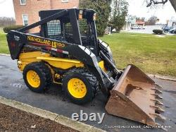 New Holland LS180 Skid Steer Loader NEW TIRES Just Serviced 63HP 4992 Hours NICE