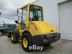 New Holland Lw50b Wheel Loader 2 Speed 3739 Hrs Fits Skid Steer Attachment