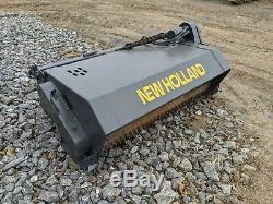 New Holland Preparator Landscape Rake Attachment For Skid Steer Track Loader