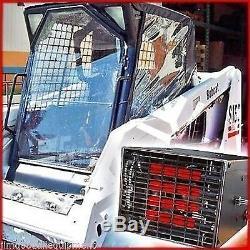 New Holland Skid Steer Cab Enclosure Kit with 10,000 BTU Heater, LX565-665-865