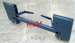 RVM UNIVERSAL Quick-Attach Adapter / Mounting Plate Assembly for ALL Skid-Steers