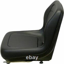 Seat Blk Fits Ford Fits New Holland Skid Steer LX465 LX485 LX565 LX665 LX865