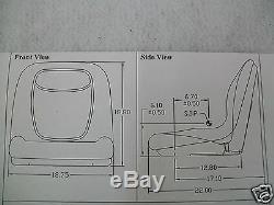 Seat New Holland Skid Steer LS125, LS140, LS150, LS160, LS170, LS180, LS185, LS190 #IW