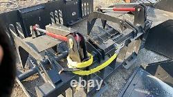 Skid Steer 72 Inch Heavy Duty Brush Grapple Bobcat Caterpillar Gehl Mustang ASV
