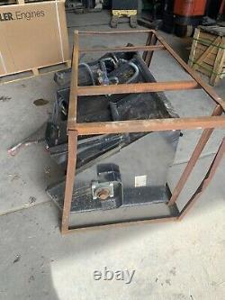 Skid Steer Concrete Mixer New Hydraulic Mower King Bobcat Cat Case Gehl New