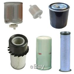 Skid Steer Filter Set for New Holland L140 L150 L160 L170 LS150 LS160 LS170 C175