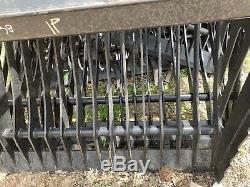 Skid steer rock bucket 72 new Cat Bobcat Case ASV Gehl JCB Kubota JCB Mustang