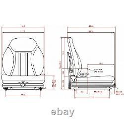 Suspension Seat for Bobcat Skid Steer S130 S150 S160 S175 S185 S220 S250 S300