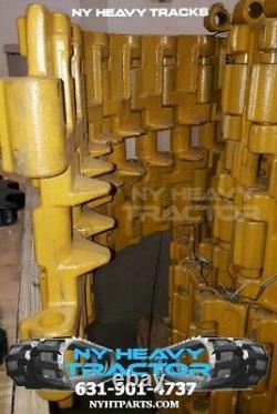 Two Steel Tracks Fits New Holland Lt185. B Skid Steer Demo / Scrap Application