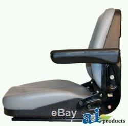 Universal Seat with Arms & Slide Track Tractor and Kubota Skid Steer