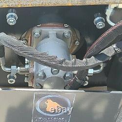 Wolverine Skid Steer Vibratory Roller Compactor 60 Soil Sand Gravel CAT Kubota